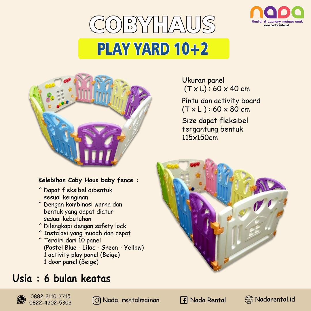 PLAY YARD 10+2 COBYHAUS