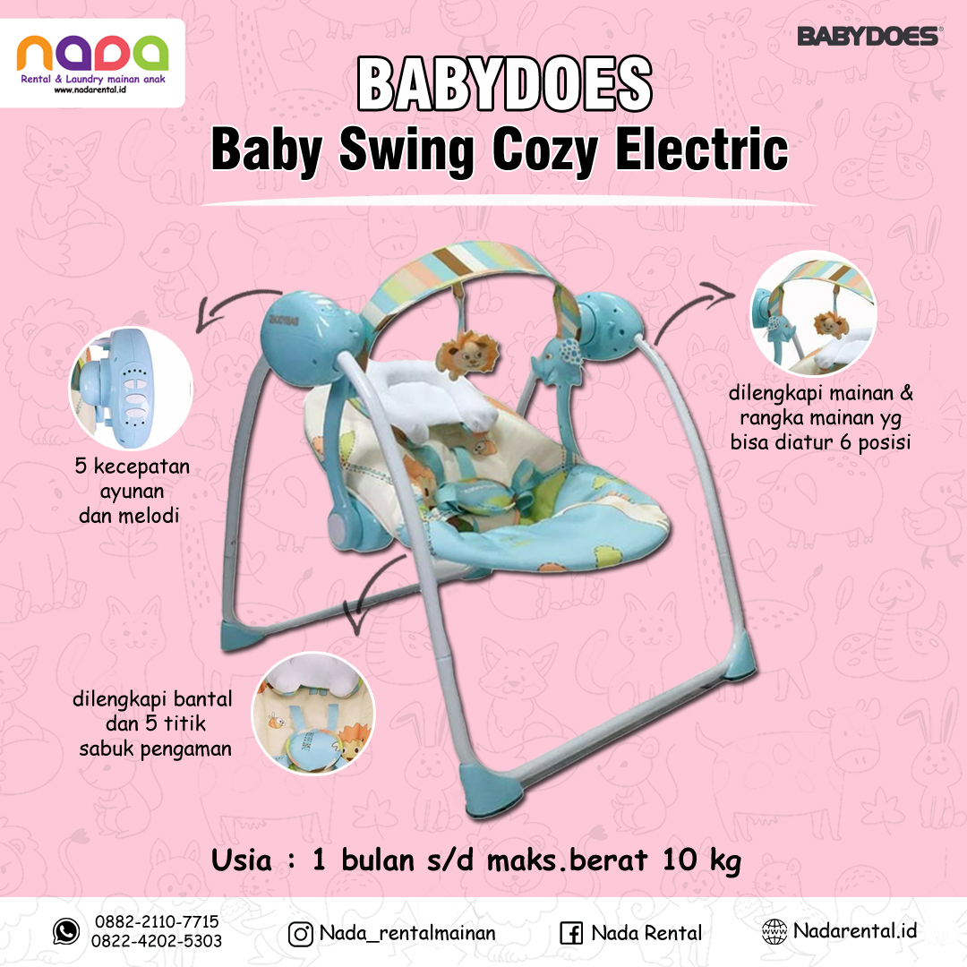 BABY SWING COZY ELECTRIK