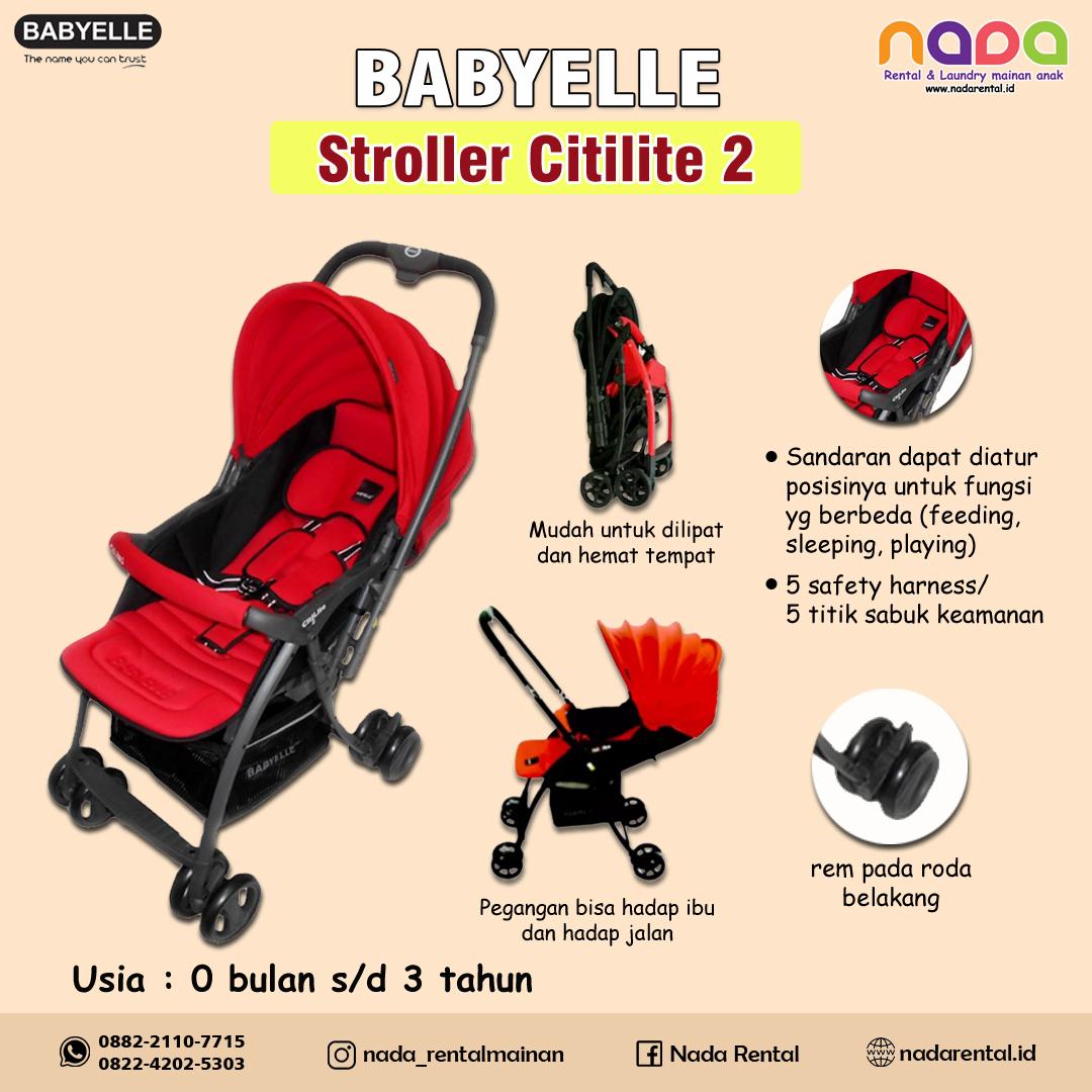 STROLLER BABY ELLE CITILITE 2