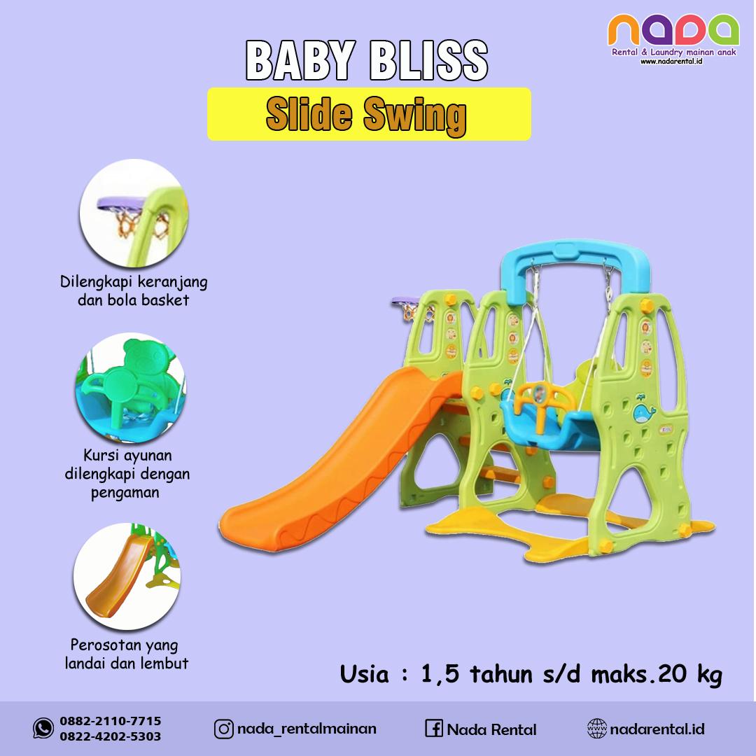 SLIDE SWING BABY BLISS PROSOTAN AYUNAN