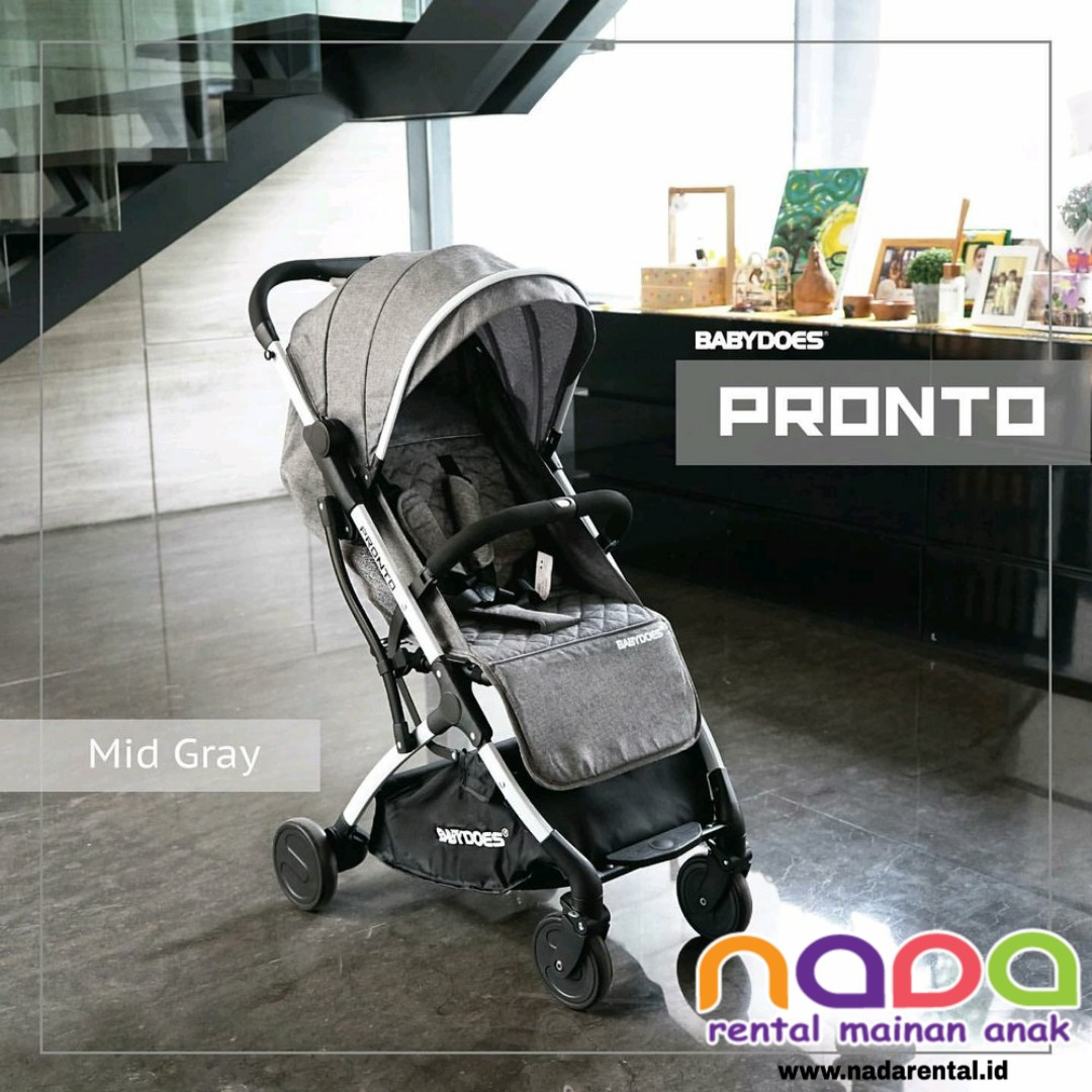 STROLLER BABYDOES PRONTO MID GRAY - UT