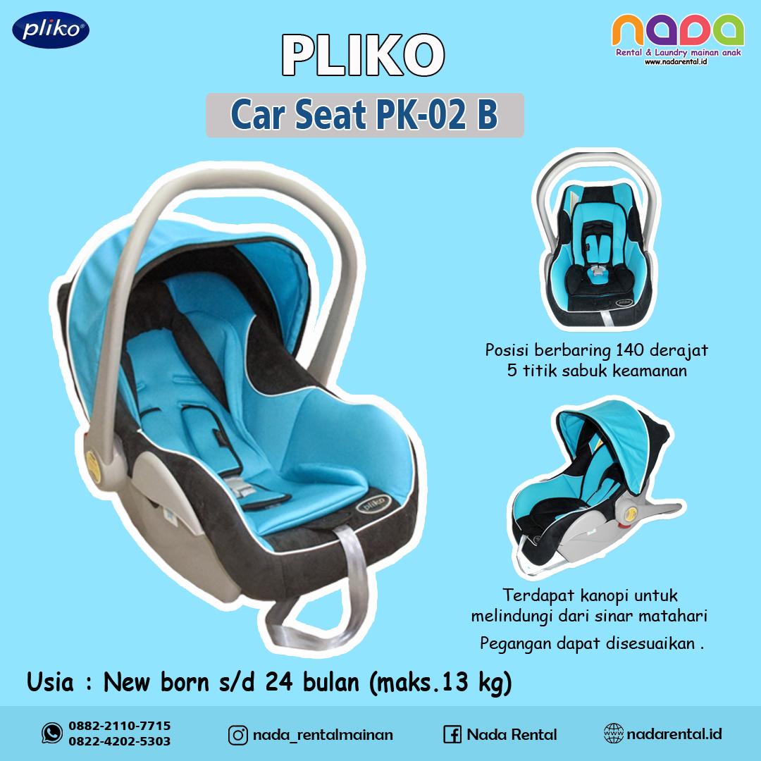 CAR SEAT PLIKO PK02