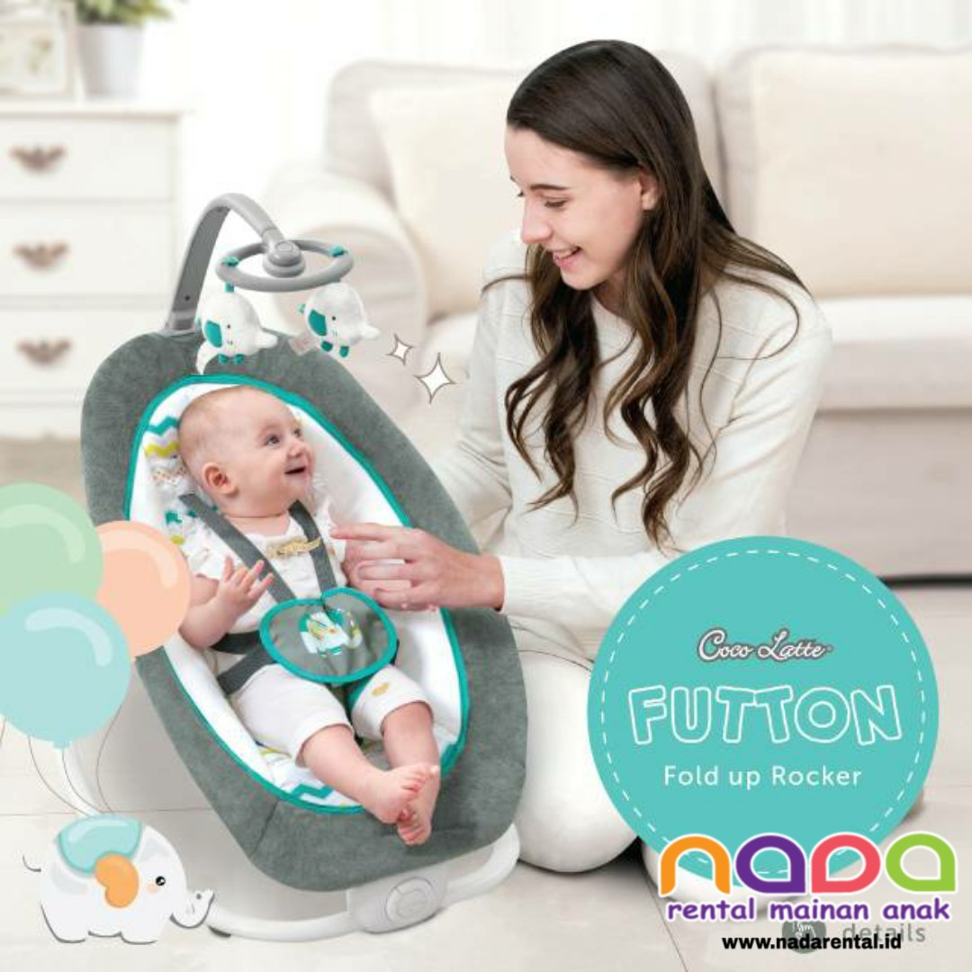 BOUNCER FUTTON FOLD UP ROCKER
