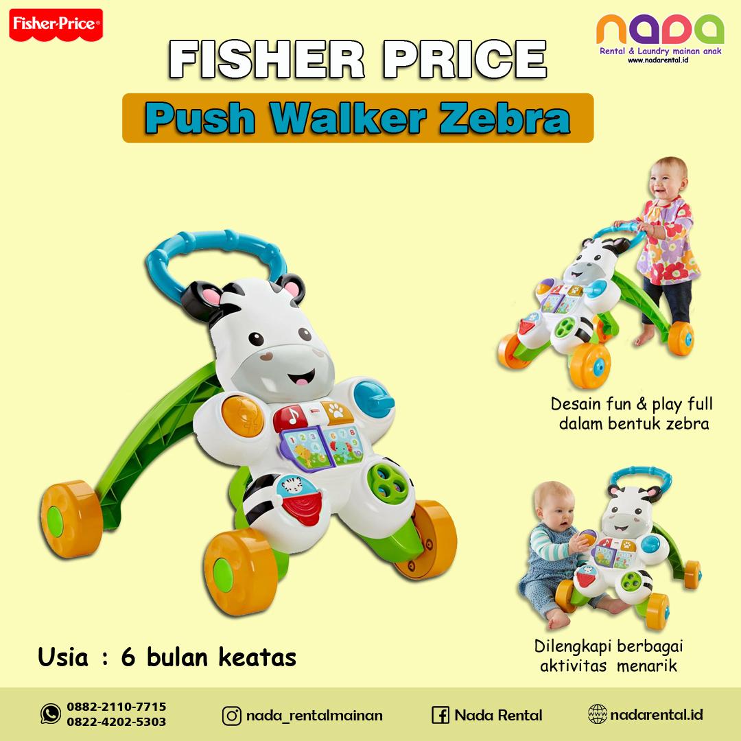 PUSH WALKER FISHER PRICE ZEBRA