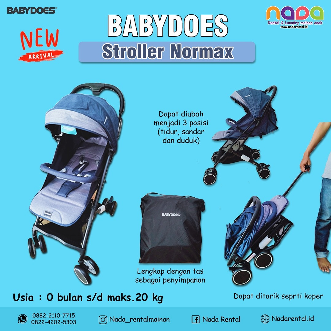 STROLLER BABYDOES NORMAX