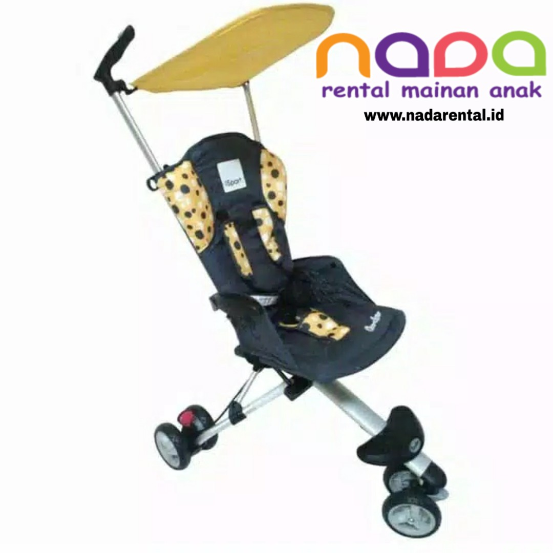 STROLLER ISPORT POLKADOT YELLOW