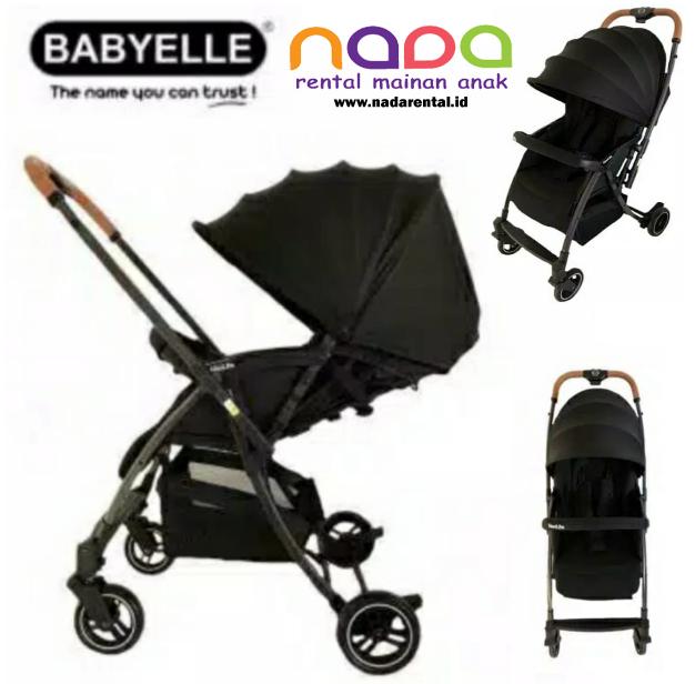 STROLLER BABYELLE S 607 RH-BL NEOLITE BLACK - UT