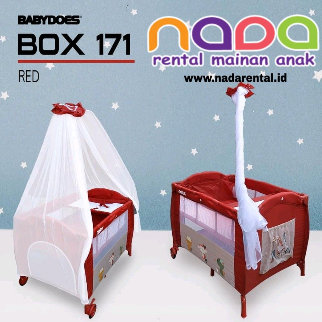 BOX BAYI BABYDOES 171 RED