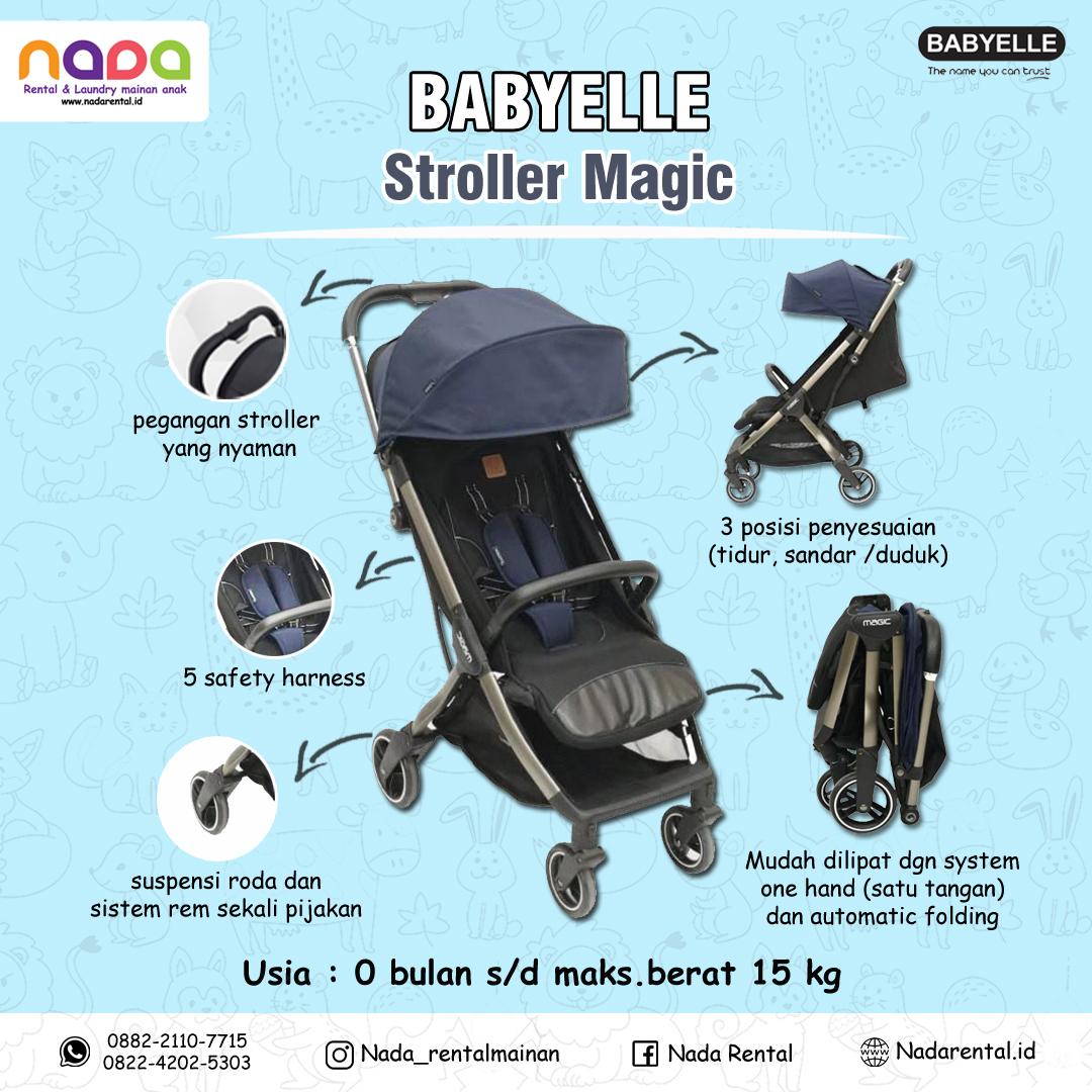 STROLLER BABYELLE MAGIC