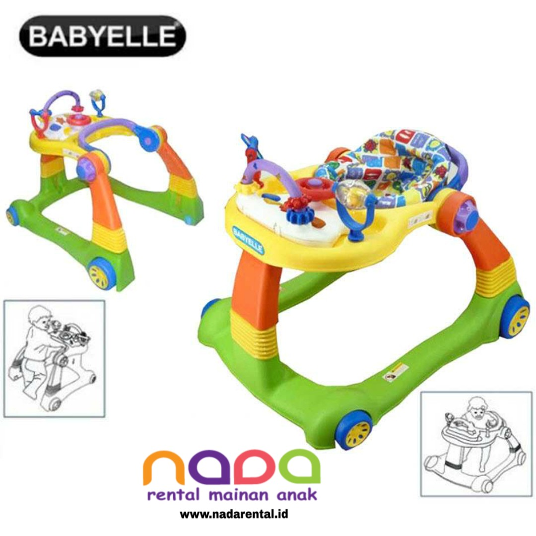BABY WALKER BABYELLE 2 IN 1 - UT
