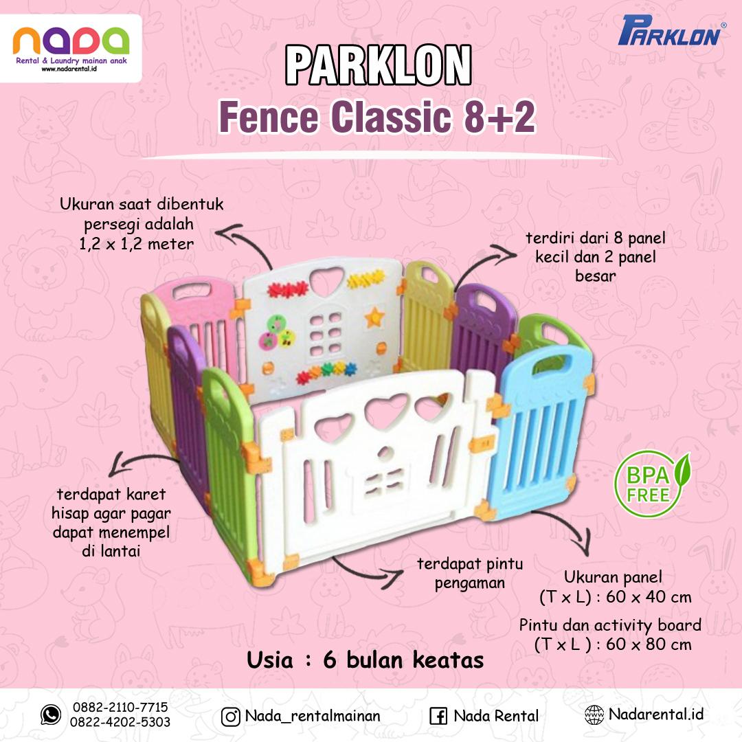 PLAY YARD PARKLON 8+2