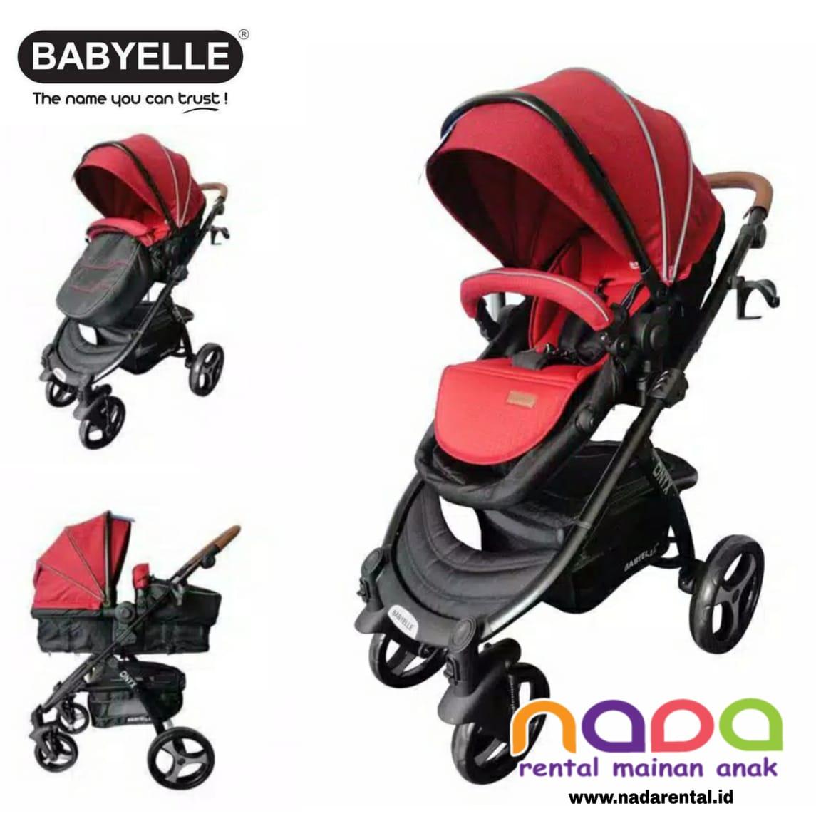 STROLLER BABYELLE ONYX S907