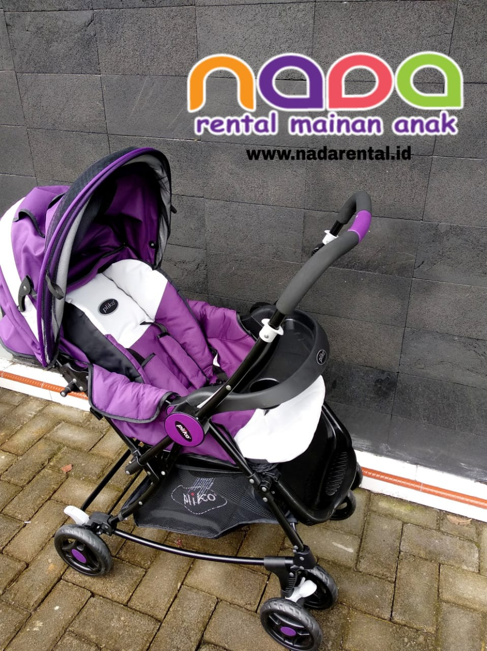 STROLLER PLIKO BEBESITOS PURPLE