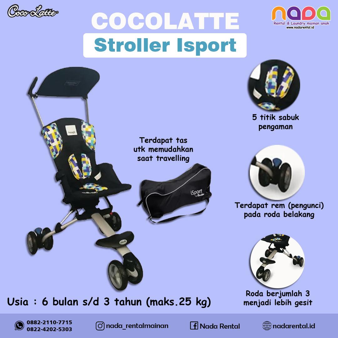 STROLLER ISPORT BLACK - UT