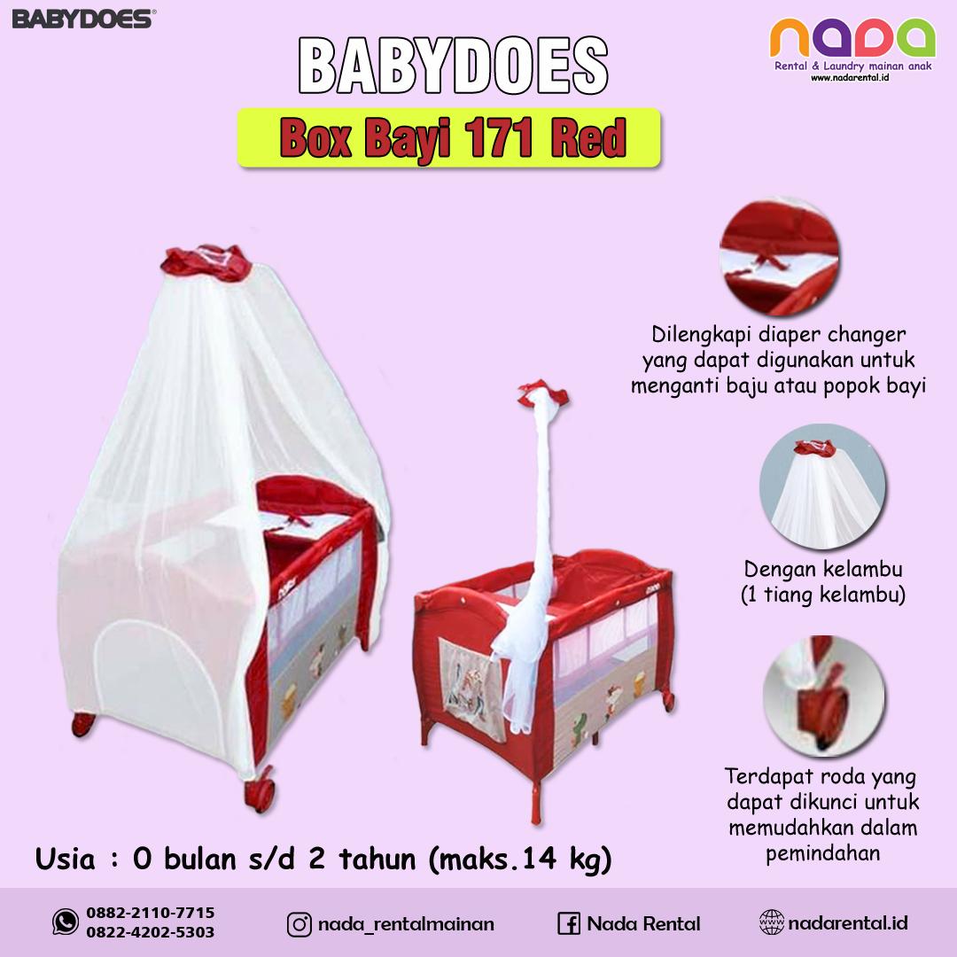 BOX BAYI BABYDOES 171 RED