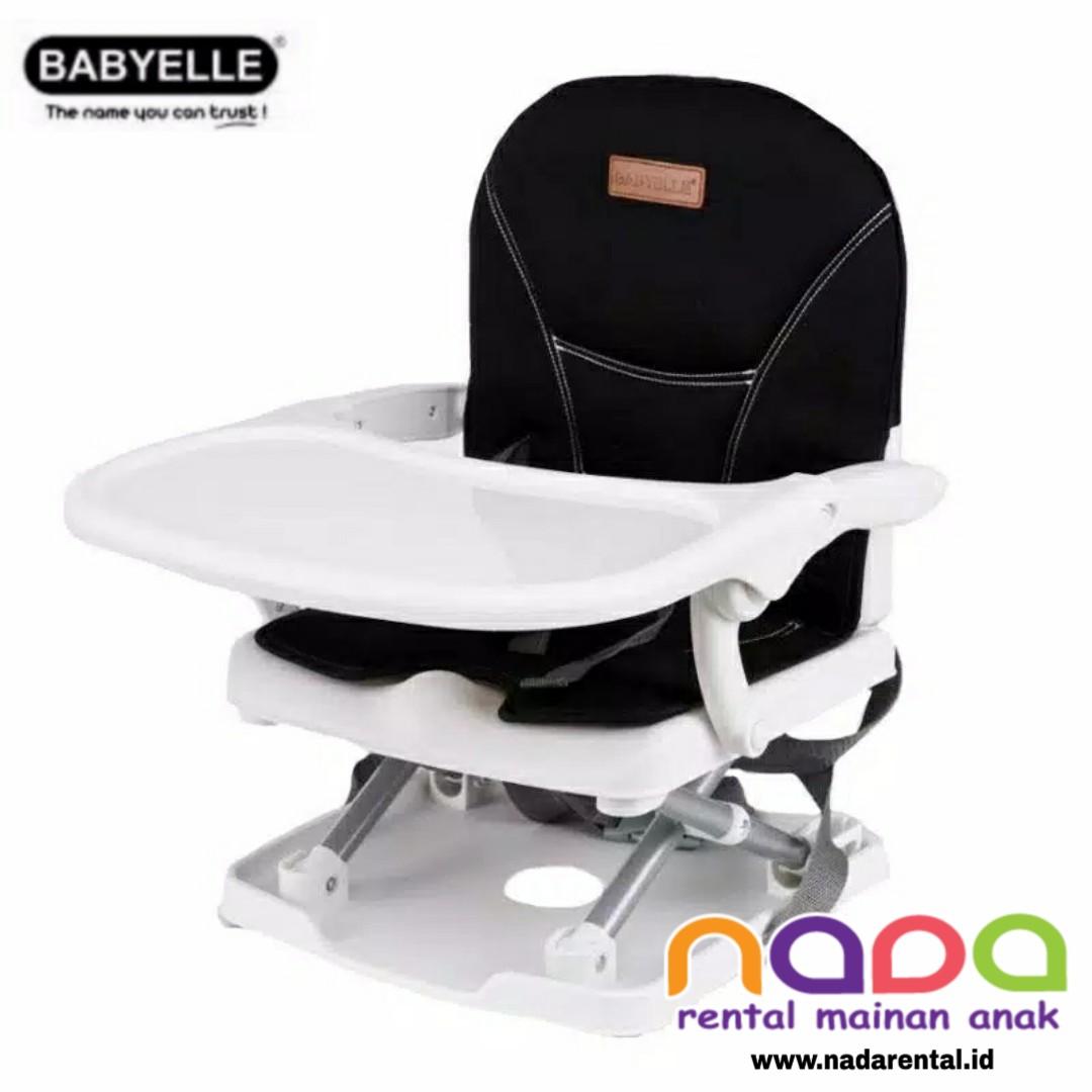 KURSI MAKAN BOSTER SEAT BABY ELLE 901 BLACK 1 - UT