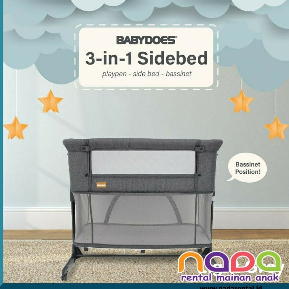 BOX BAYI 3-IN-1 SIDE BED